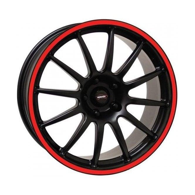 "Team Dynamics Mini Pro Race 1.2 17"" Alloy Wheel (Red Rim)"