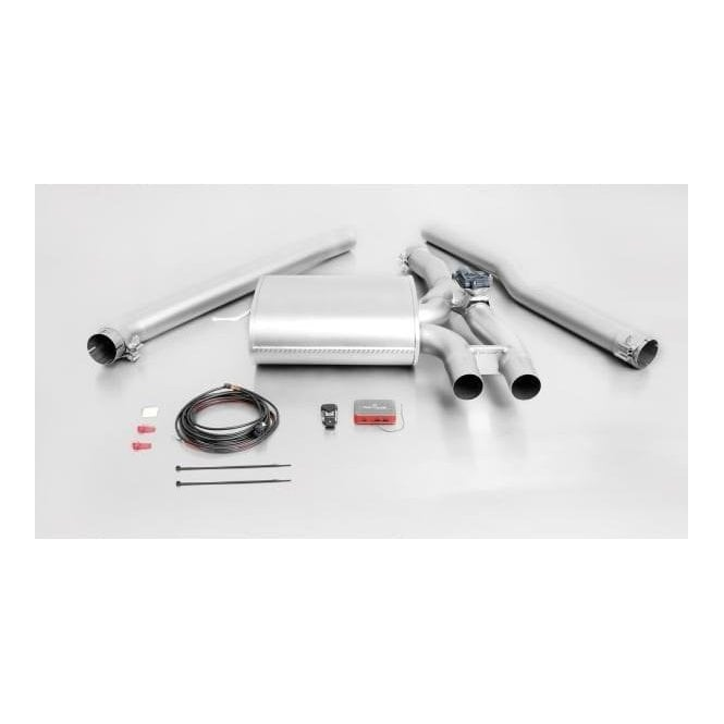 Remus Exhausts Electronic Valved Sports Exhaust System - Cat back F56  Mini cooper S & JCW