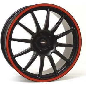 "Team Dynamics Mini Pro Race 1.2 16"" Alloy Wheel (Red Rim)"