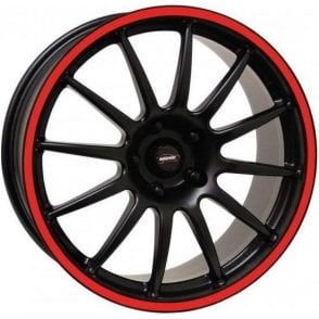 "Team Dynamics Mini Pro Race 1.2 17"" Alloy Wheel (Red Rim)"