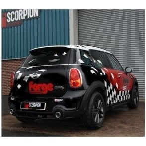 Cat Back Performance Exhaust System Countryman R60