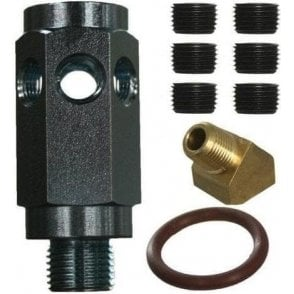 Mini Craven Speed Oil Pressure Adapter Connecter