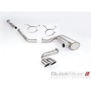 Quicksilver Performance Exhaust System Cooper S R53 Twin Tail Pipes