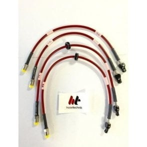 Mini Hose Technik Stainless Steel Performance Braided Brake Lines - Gen2