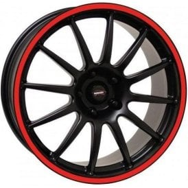 "Team Dynamics Mini Pro Race 1.2 15"" Alloy Wheel (Red Rim)"
