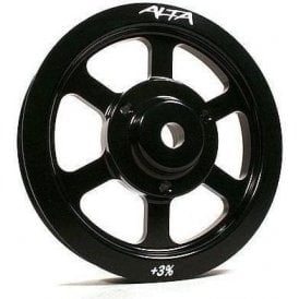 Alta Mini Lightened and Enlarged Crank Pulley