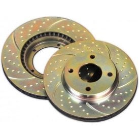 EBC Mini Turbo Grooved and Vented Front & Rear Brake Discs (Generation Two)