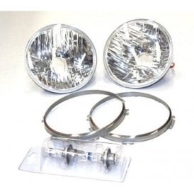 Land Rover Defender Crystal Headlights Conversion Kit