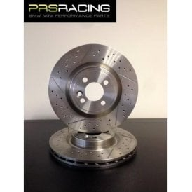 Brembo R56 JCW Drilled and Grooved Brake Discs 316 x 22  Gen Two (Pair)